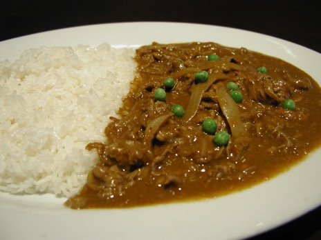 Hashed Beef Curry
